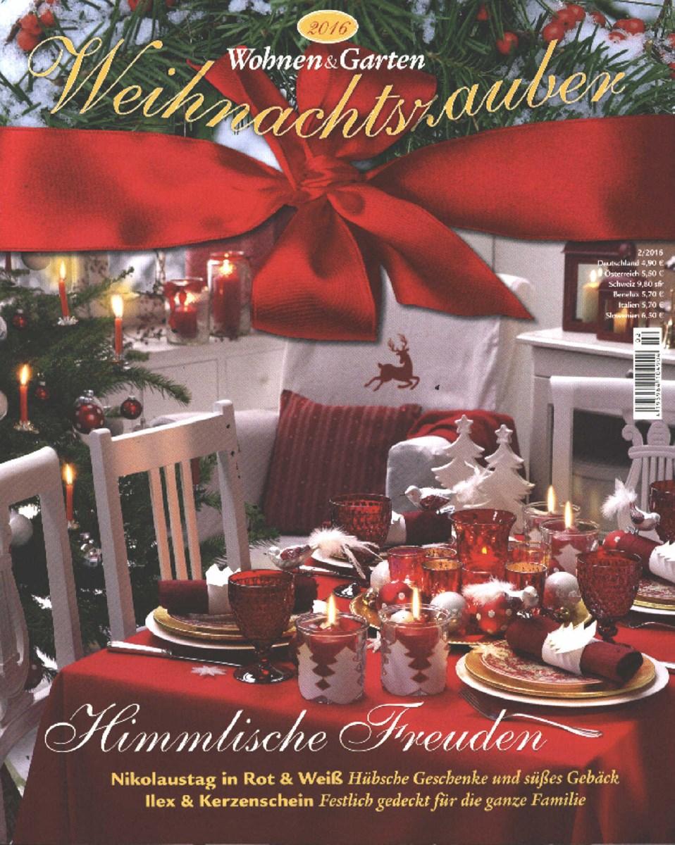 Foto Wohnen Und Garten wohnen garten weihnachtszauber 2 2016 zeitungen und