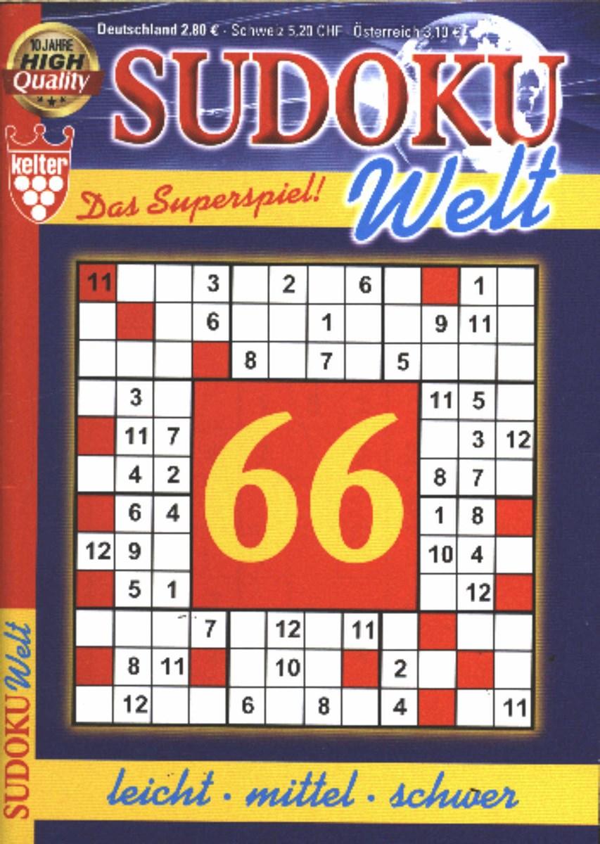 Welt.De Sudoku