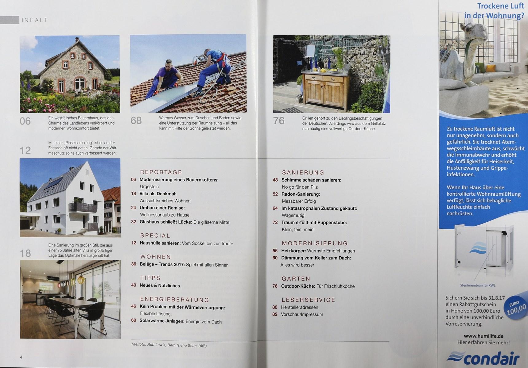 Outdoorküche Buch Lösungen : Umbauen modernisieren 10 2017 zeitungen und zeitschriften online