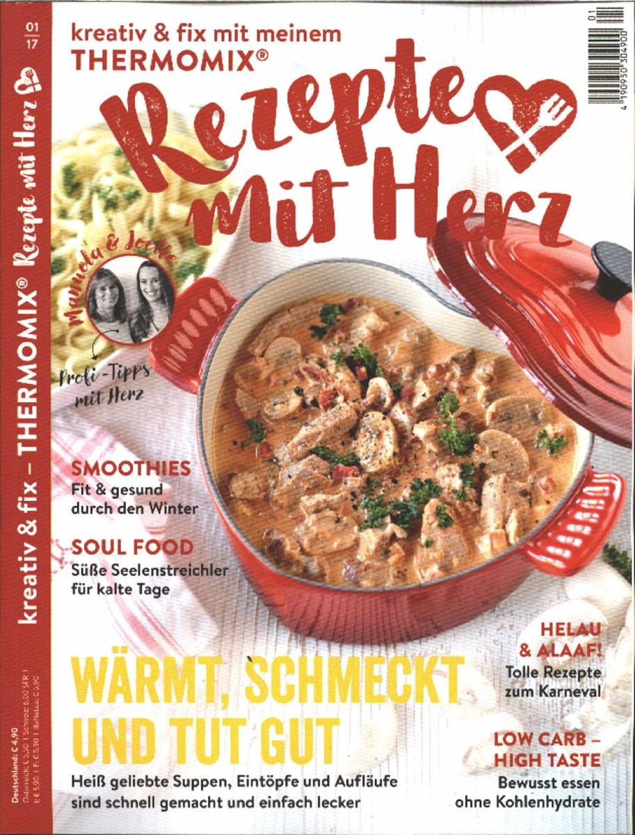 Rezepte Aus Zeitschriften rezepte mit herz 1 2017 zeitungen und zeitschriften