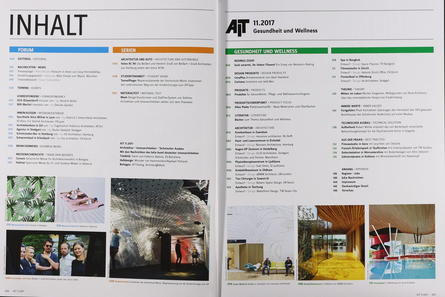 Ait architektur 11 2017 zeitungen und zeitschriften online for Architektur zeitschriften