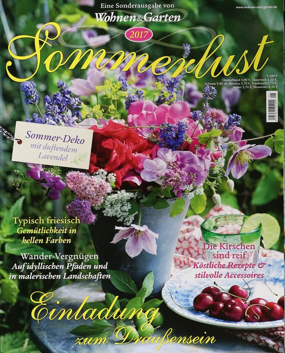 Wohnen und garten de  SOMMERLUST WOHNEN & GARTEN 1/2017 - Zeitungen und Zeitschriften online