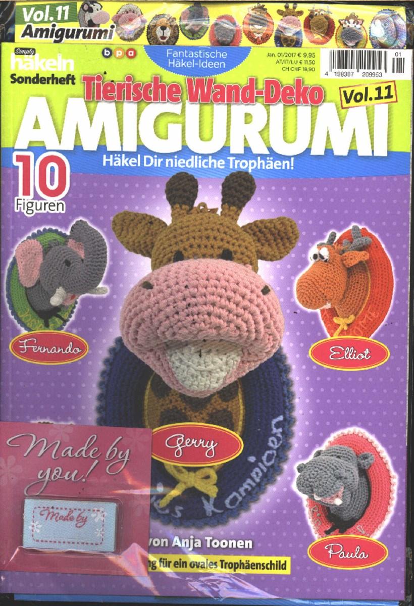 Fantastische Häkelideen Meerestiere Amigurumi Vol. 16 03/2017 ...   1200x820