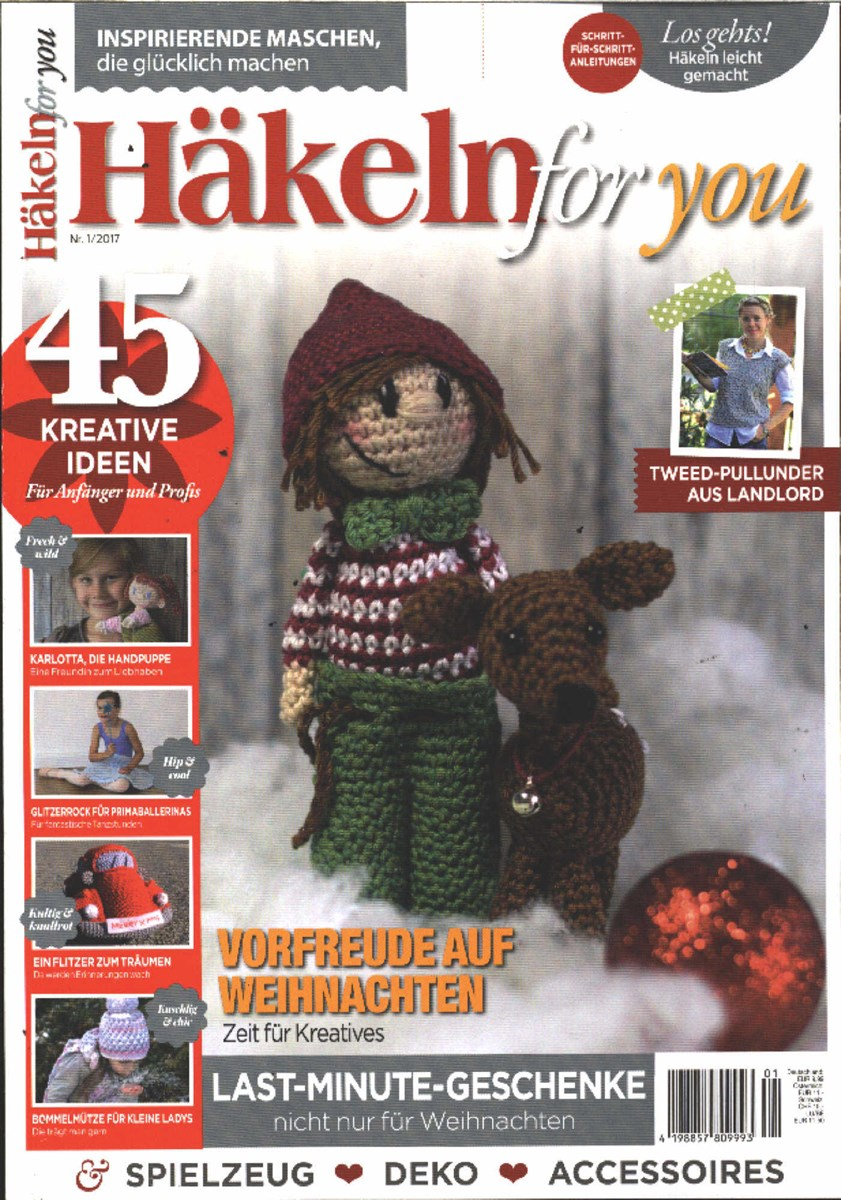 Häkeln For You 12017 Zeitungen Und Zeitschriften Online