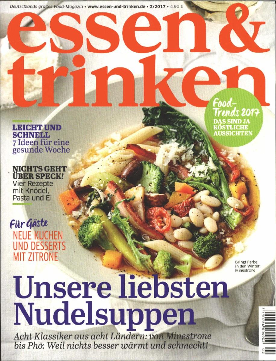 Essen Trinken Zeitschrift essen trinken 2 2017 zeitungen und zeitschriften