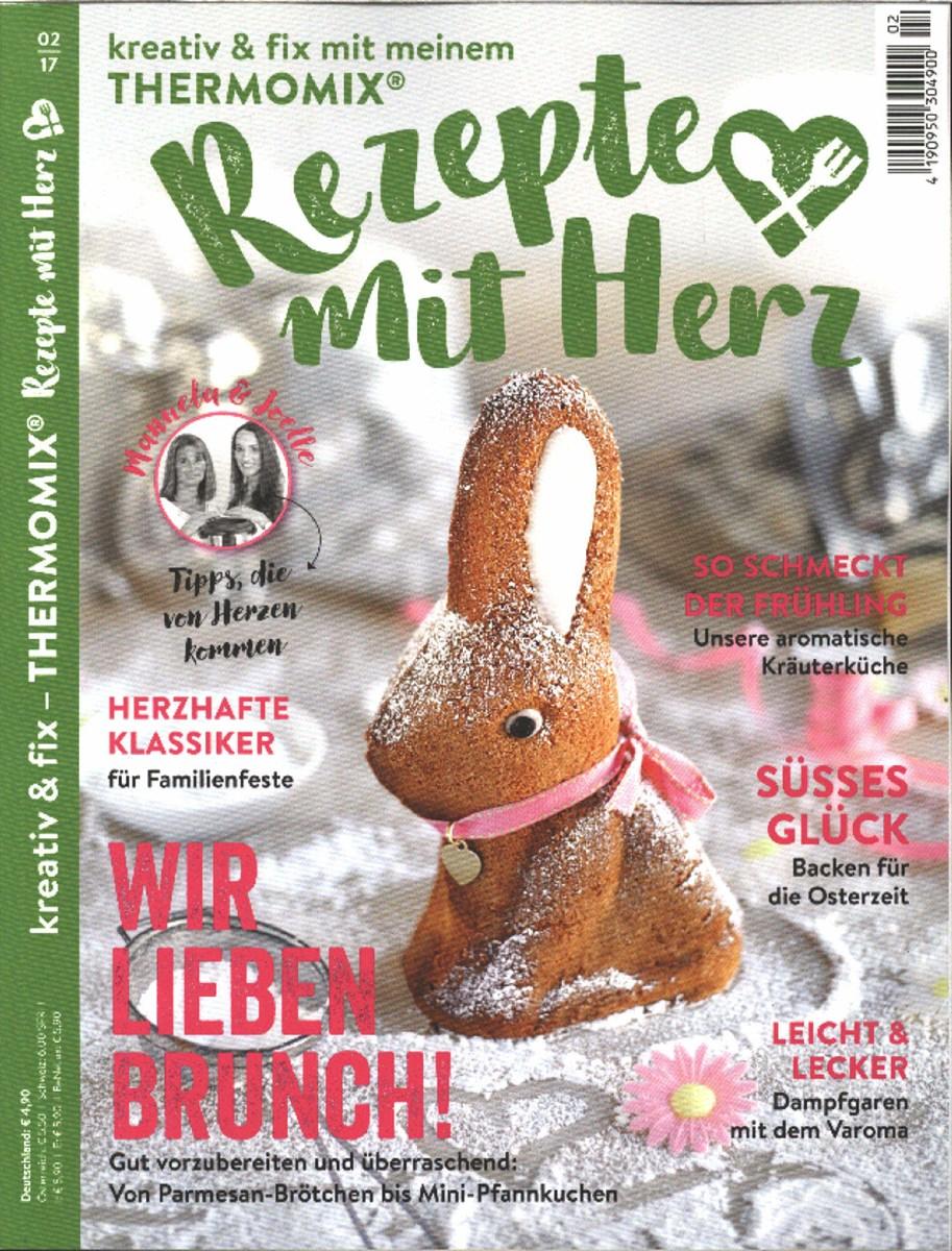 Rezepte Zeitschrift rezepte mit herz 2 2017 zeitungen und zeitschriften