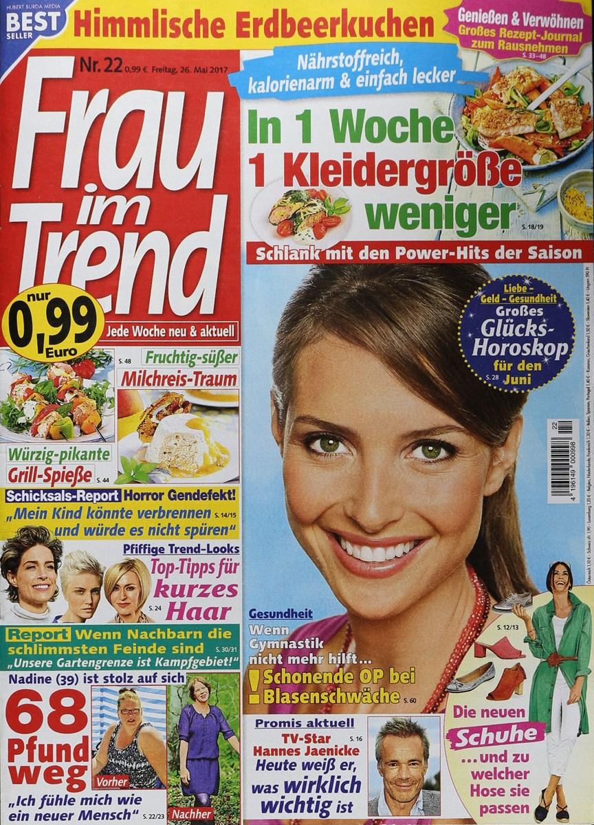 Frau Im Trend 222017 Zeitungen Und Zeitschriften Online