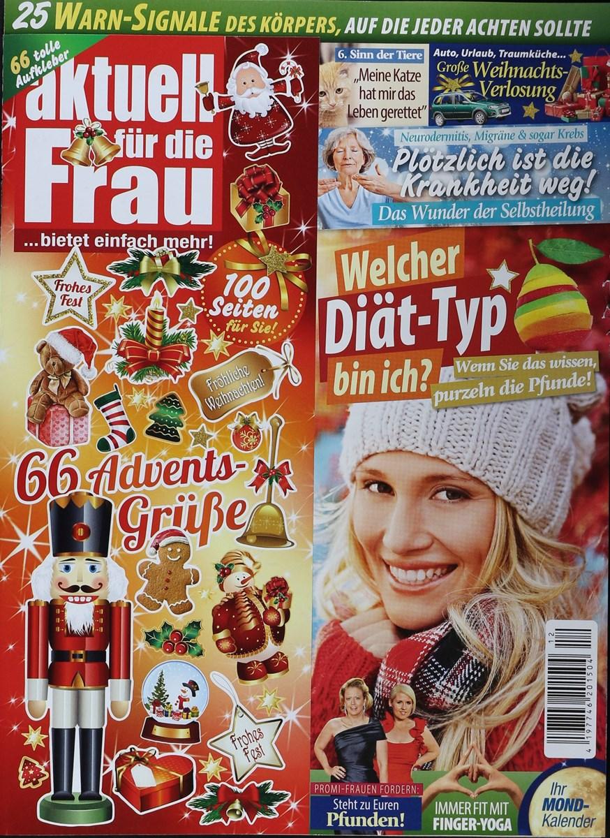 AKTUELL FÜR DIE FRAU 12/2017 - Zeitungen und Zeitschriften