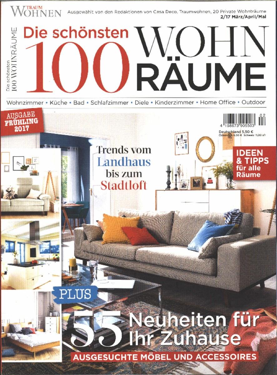 100 WOHNRÄUME 2/2017 - Zeitungen und Zeitschriften online