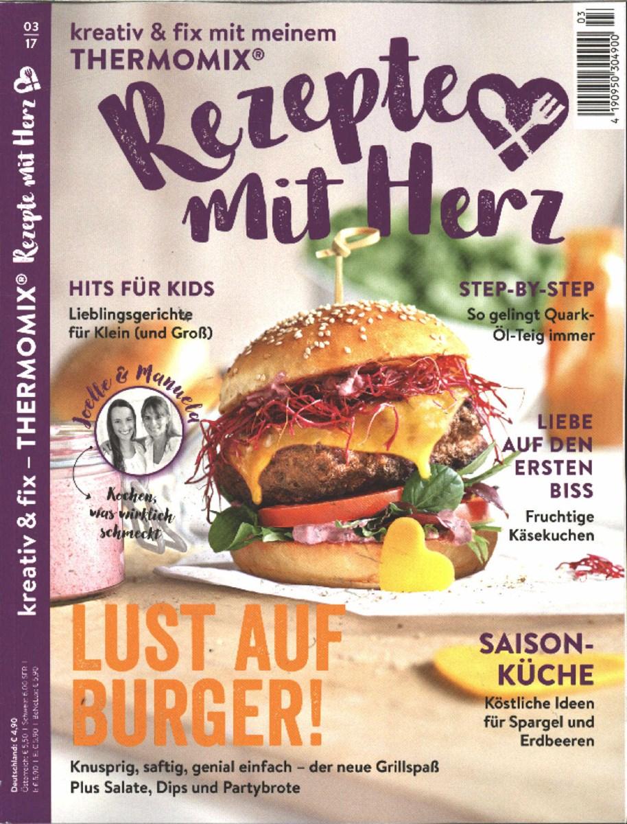Zeitschrift Rezepte rezepte mit herz 3 2017 zeitungen und zeitschriften
