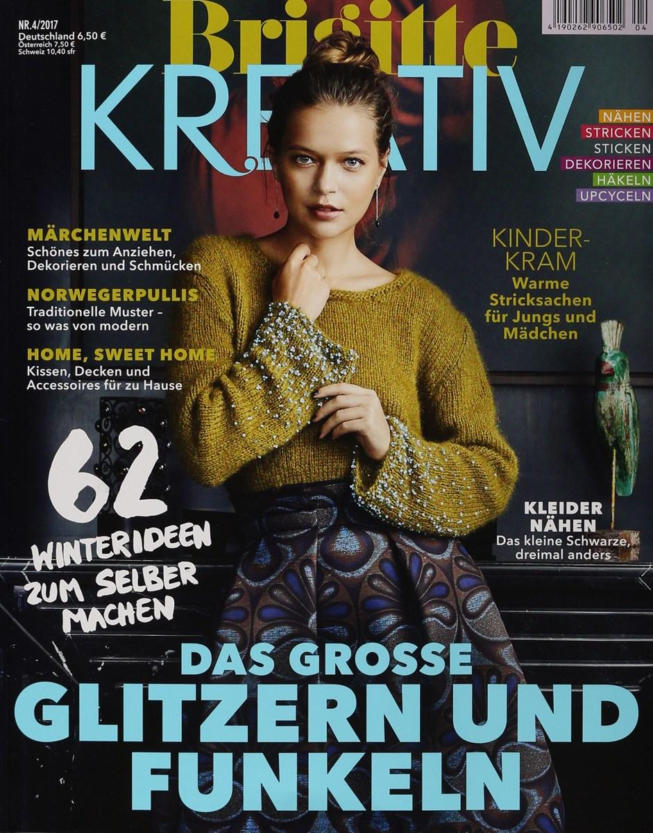 BRIGITTE KREATIV 4/2017 - Zeitungen und Zeitschriften online