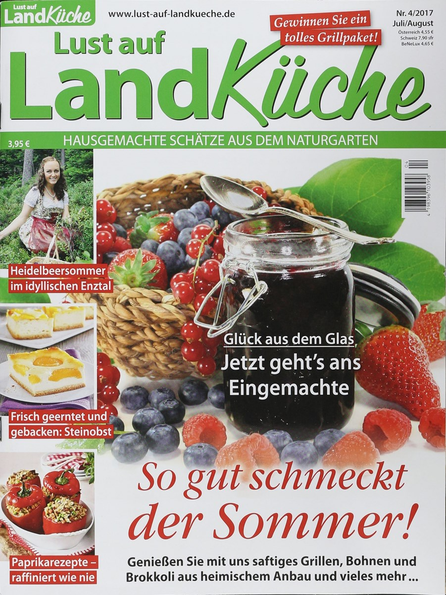 LUST AUF LANDKÜCHE 4/2017 - Zeitungen und Zeitschriften online