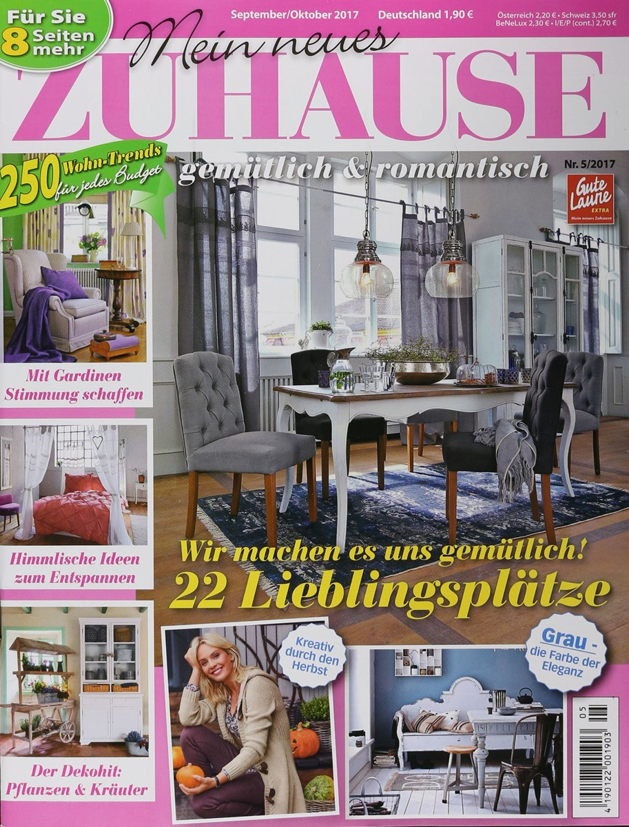 mein neues zuhause 5 2017 zeitungen und zeitschriften online. Black Bedroom Furniture Sets. Home Design Ideas
