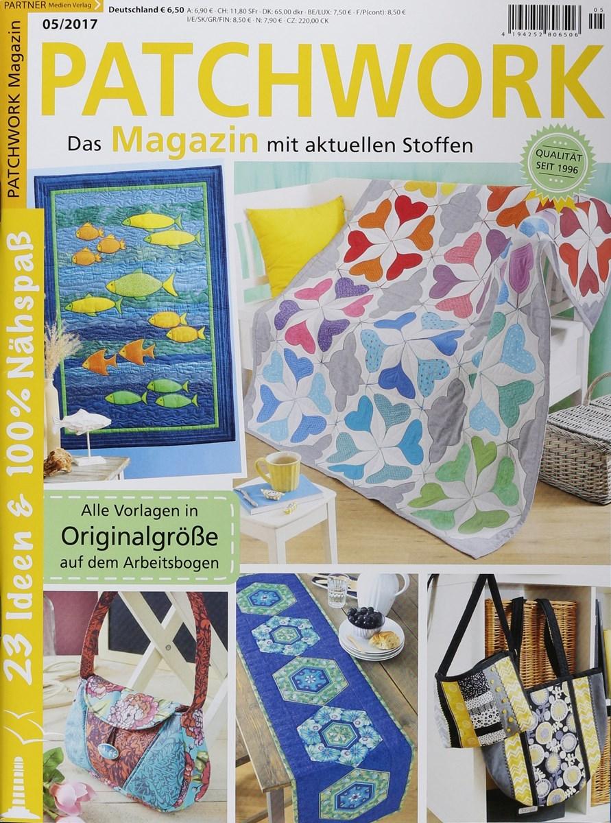 patchwork magazin 5 2017 zeitungen und zeitschriften online. Black Bedroom Furniture Sets. Home Design Ideas