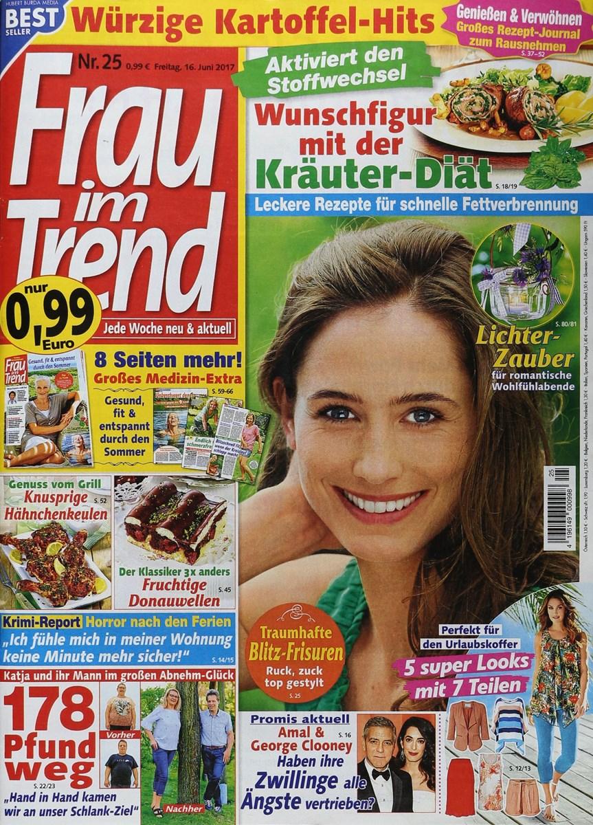 Frau Im Trend 252017 Zeitungen Und Zeitschriften Online