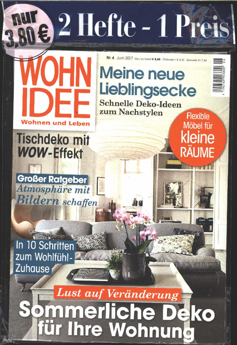 wohnidee 6 2017 zeitungen und zeitschriften online. Black Bedroom Furniture Sets. Home Design Ideas