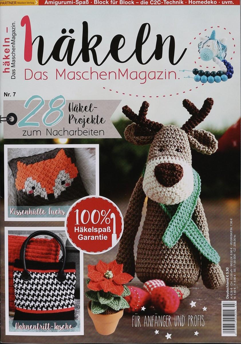 Häkeln Das Maschenmagazin 72017 Zeitungen Und Zeitschriften Online