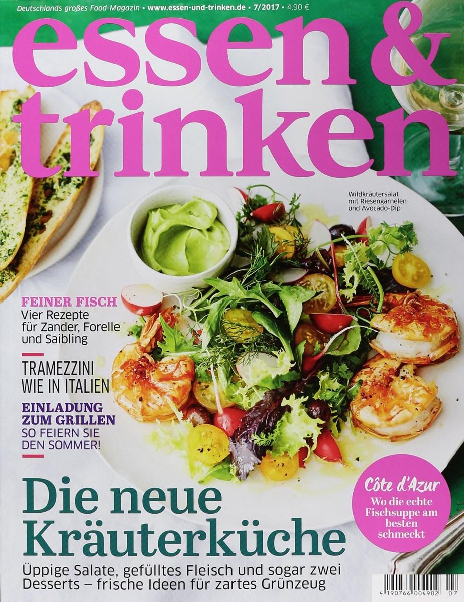 Essen Und Trinken Zeitschrift essen trinken 7 2017 zeitungen und zeitschriften