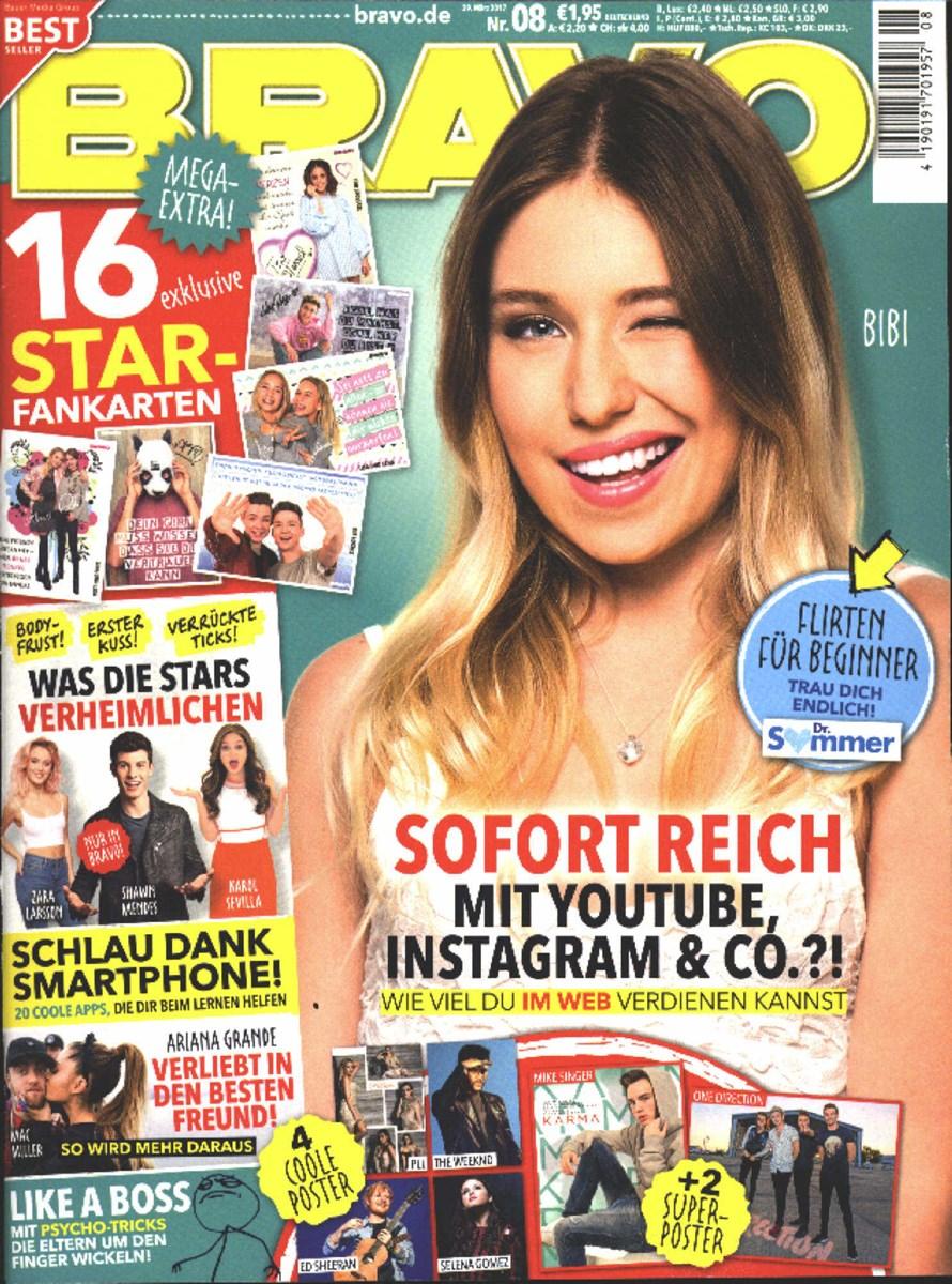 BRAVO 8/2017 - Zeitungen und Zeitschriften online