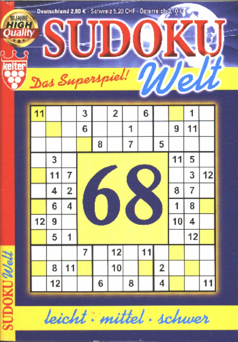 Welt De Sudoku