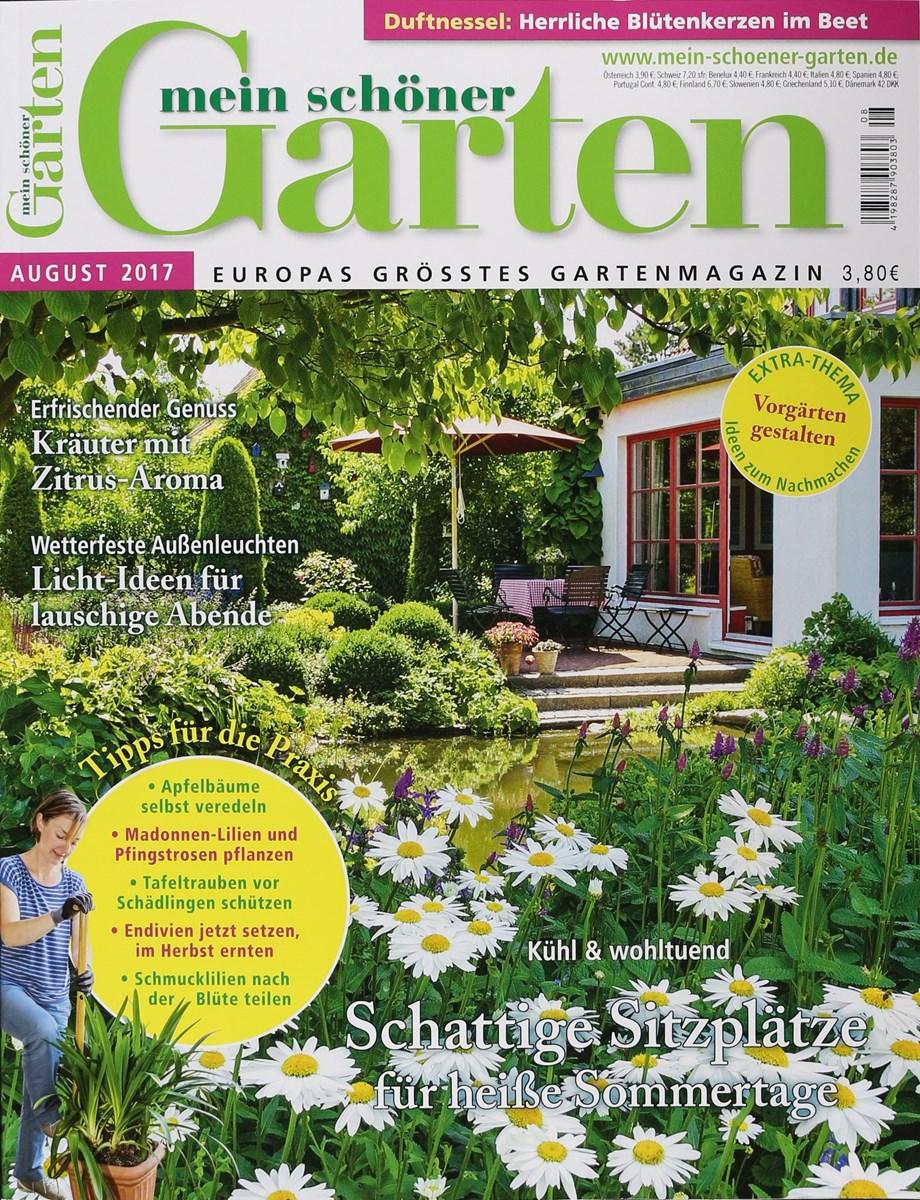 Mein Schöner Garten At mein schöner garten 8 2017 zeitungen und zeitschriften