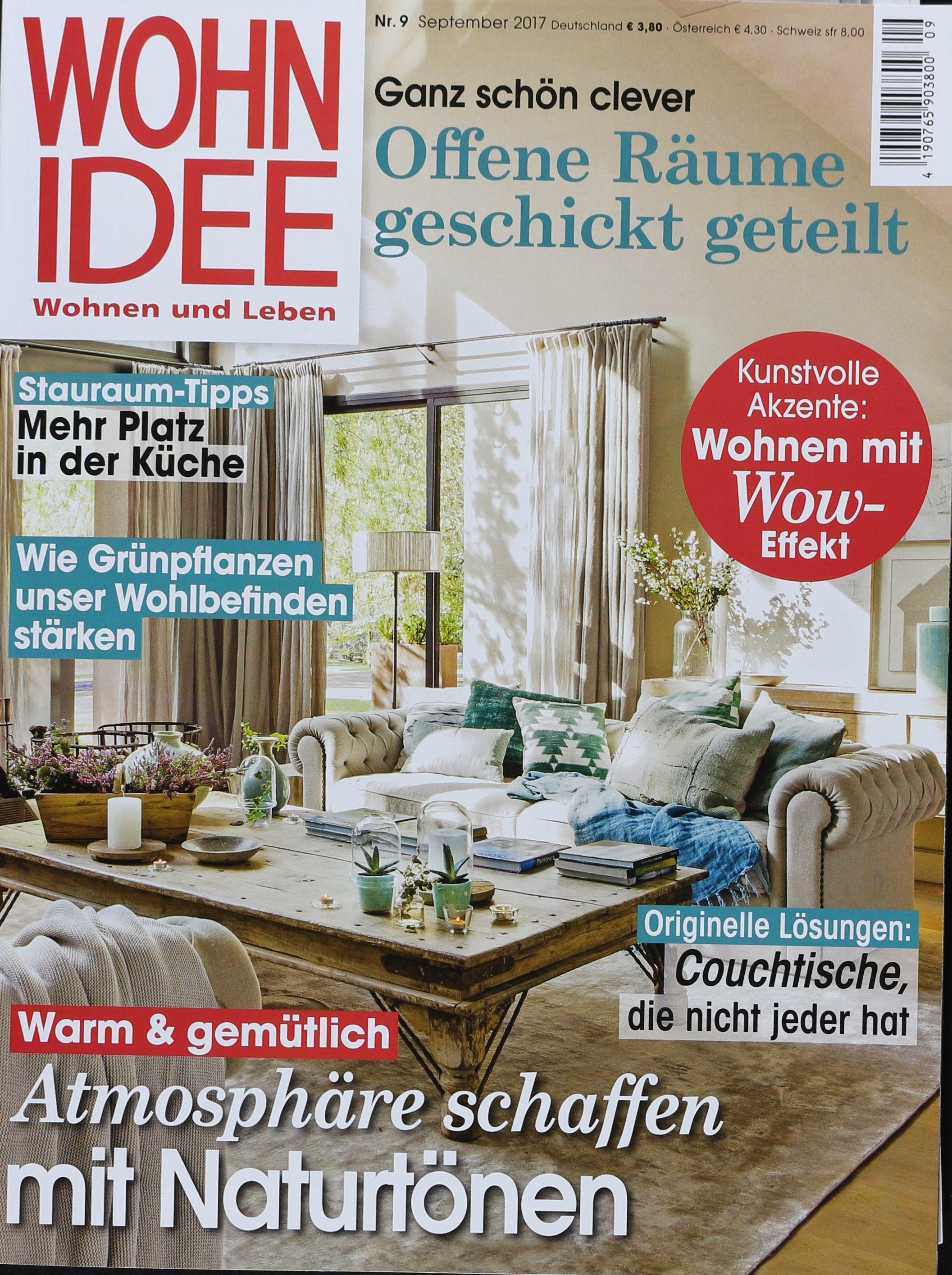 Wohn idee interesting in cham with wohn idee top das neu for Wohn magazine