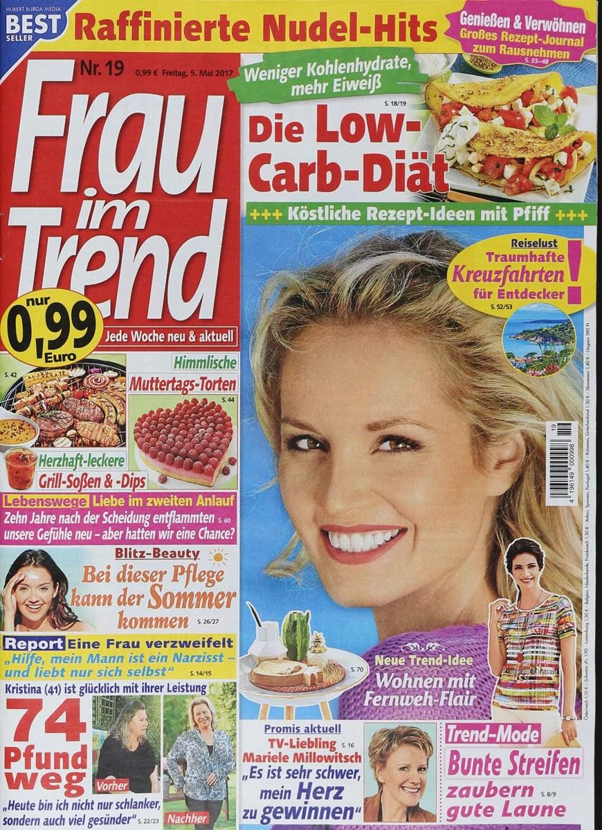 Frau Im Trend 192017 Zeitungen Und Zeitschriften Online