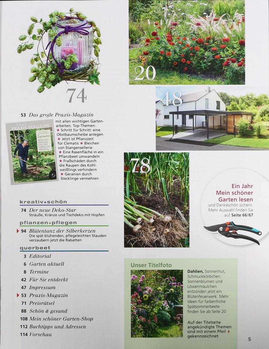 Mein Schöner Garten 92017 Zeitungen Und Zeitschriften Online