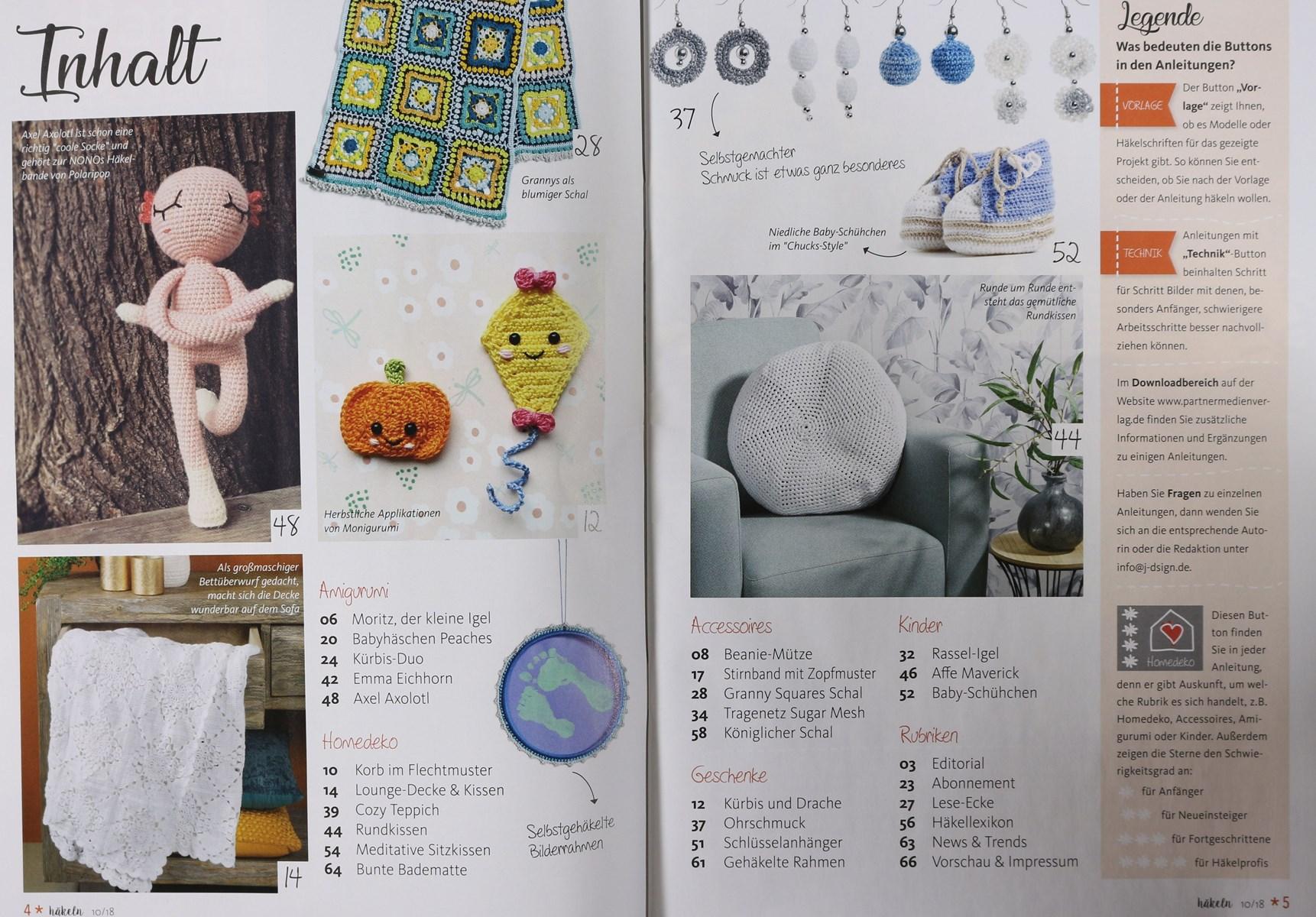 Häkeln Das Maschenmagazin 102018 Zeitungen Und Zeitschriften Online