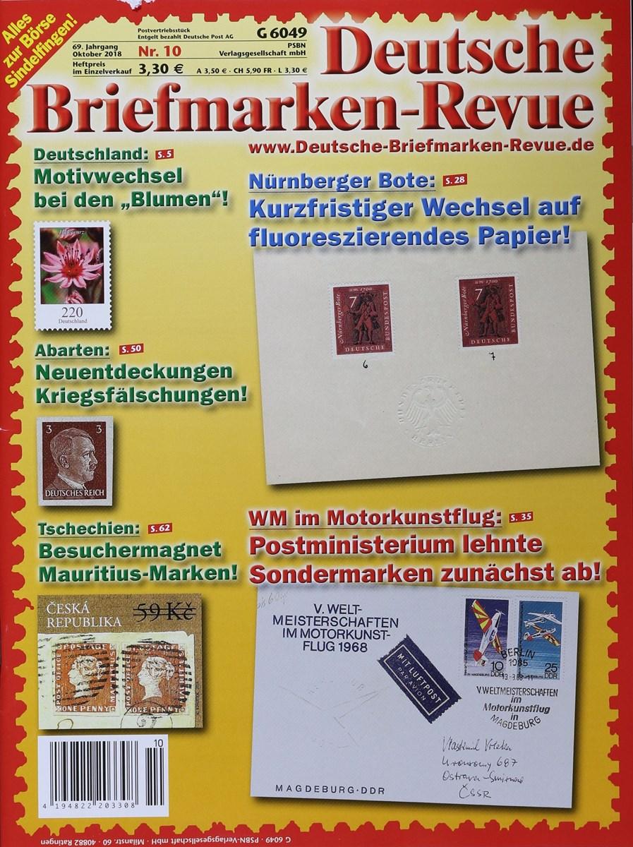 Deutsche Briefmarken Revue 102018 Zeitungen Und Zeitschriften Online