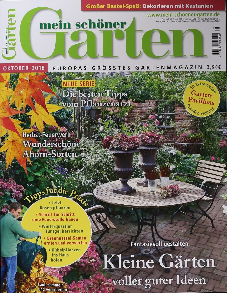 Mein Schöner Garten 102018 Zeitungen Und Zeitschriften Online