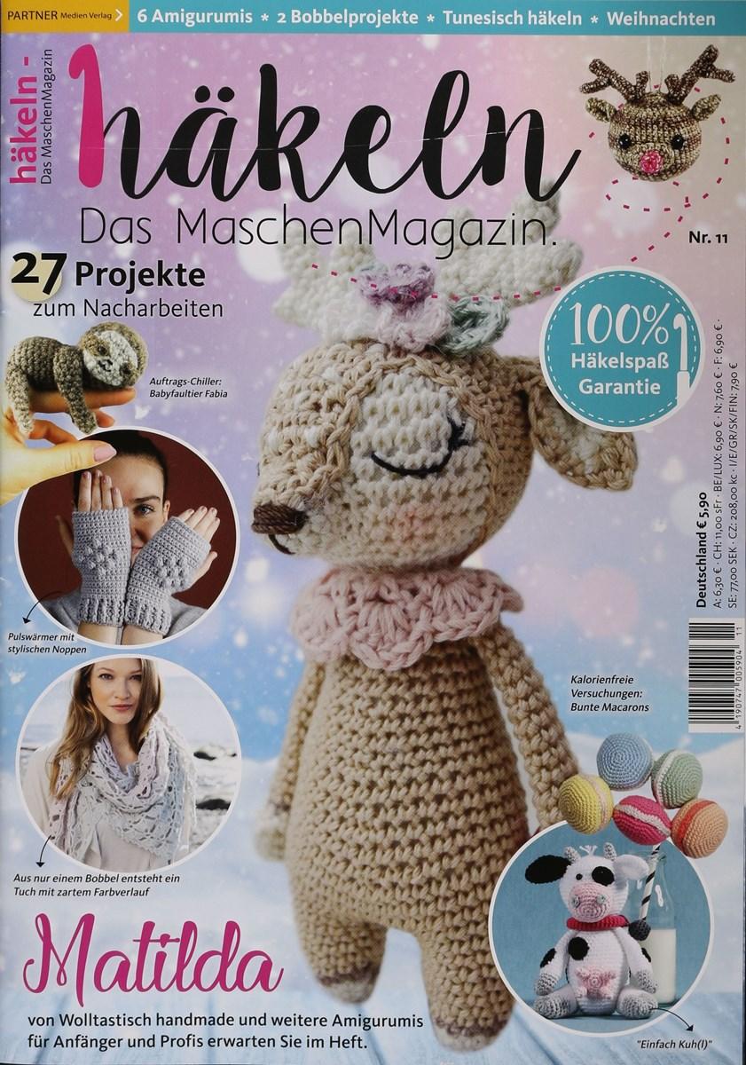 Häkeln Das Maschenmagazin 112018 Zeitungen Und Zeitschriften Online
