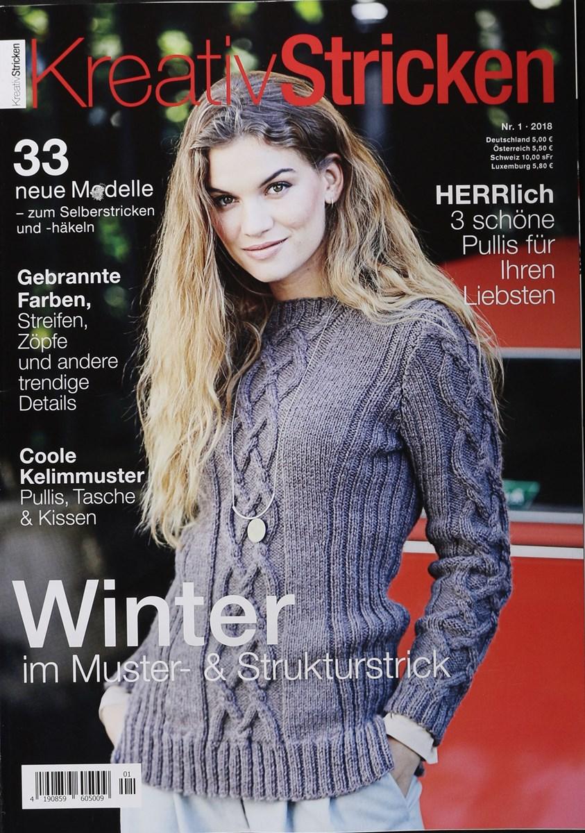 KREATIV STRICKEN 1/2018 - Zeitungen und Zeitschriften online