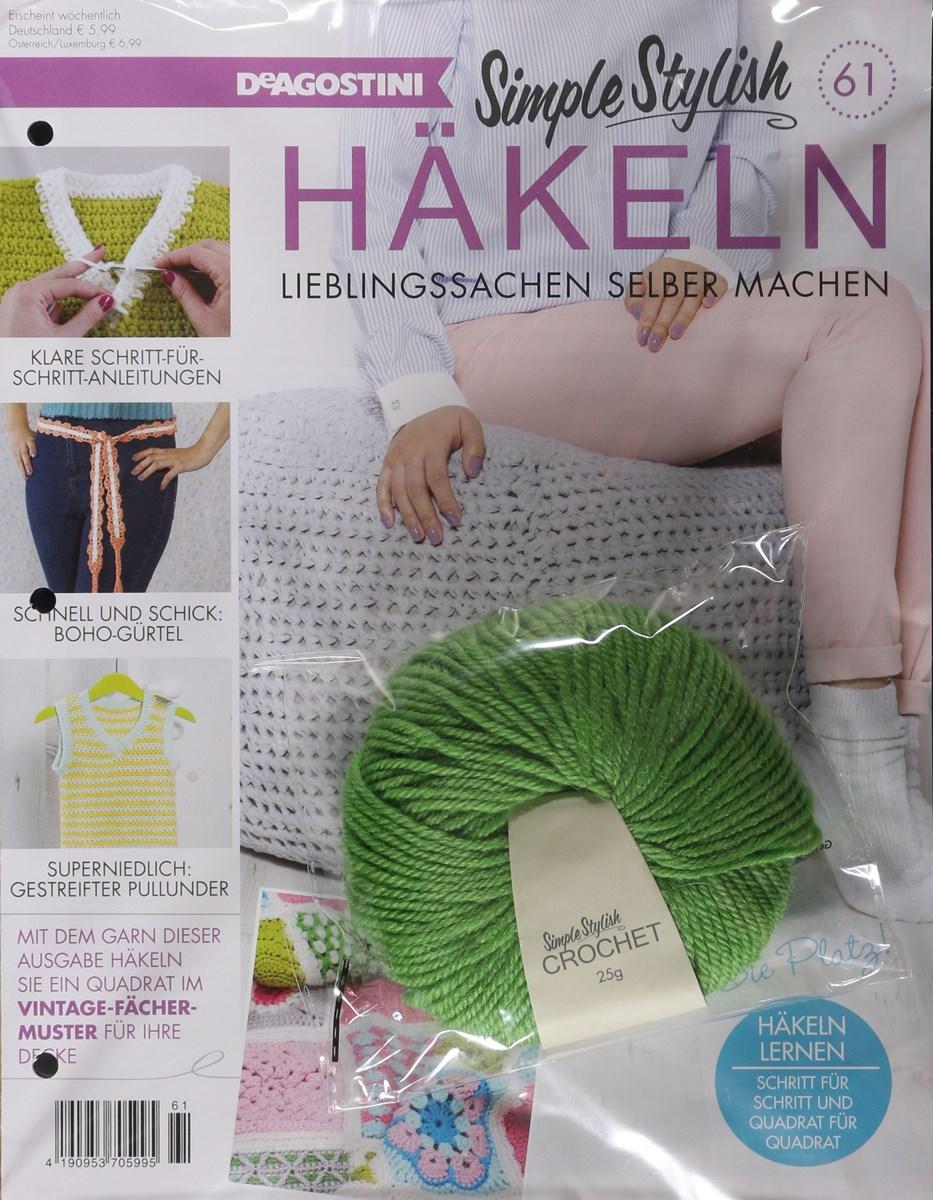 Simple Stylish Häkeln 612018 Zeitungen Und Zeitschriften Online