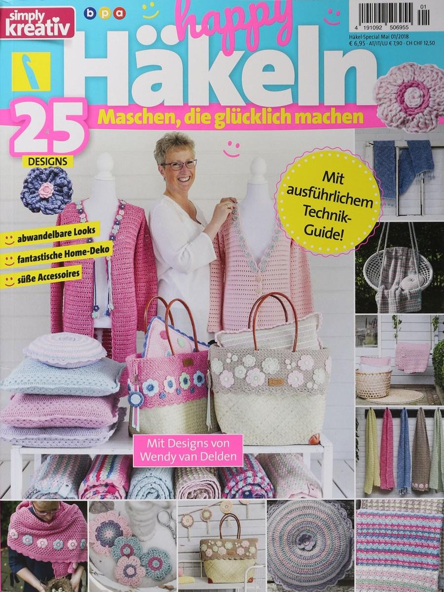 Simply Kreativ Happy Häkeln 12018 Zeitungen Und Zeitschriften Online