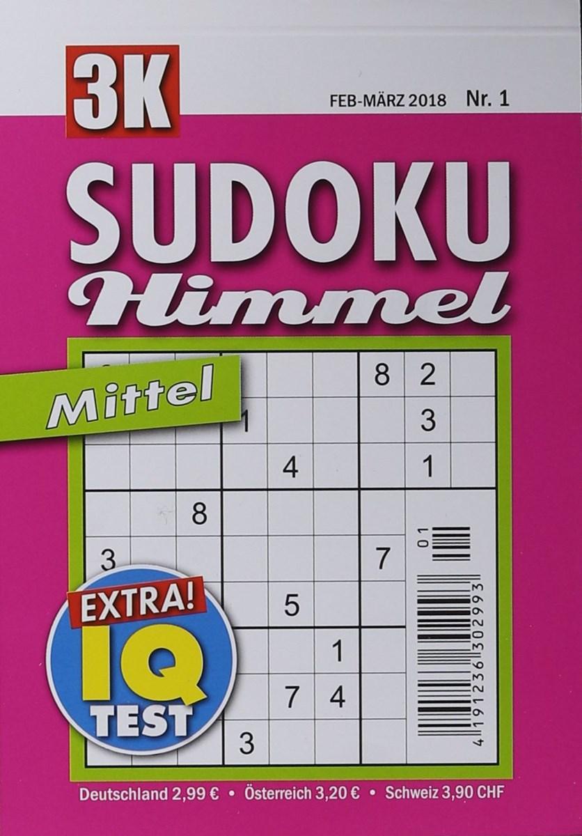 SUDOKU HIMMEL MITTEL 1/2018 - Zeitungen und Zeitschriften online
