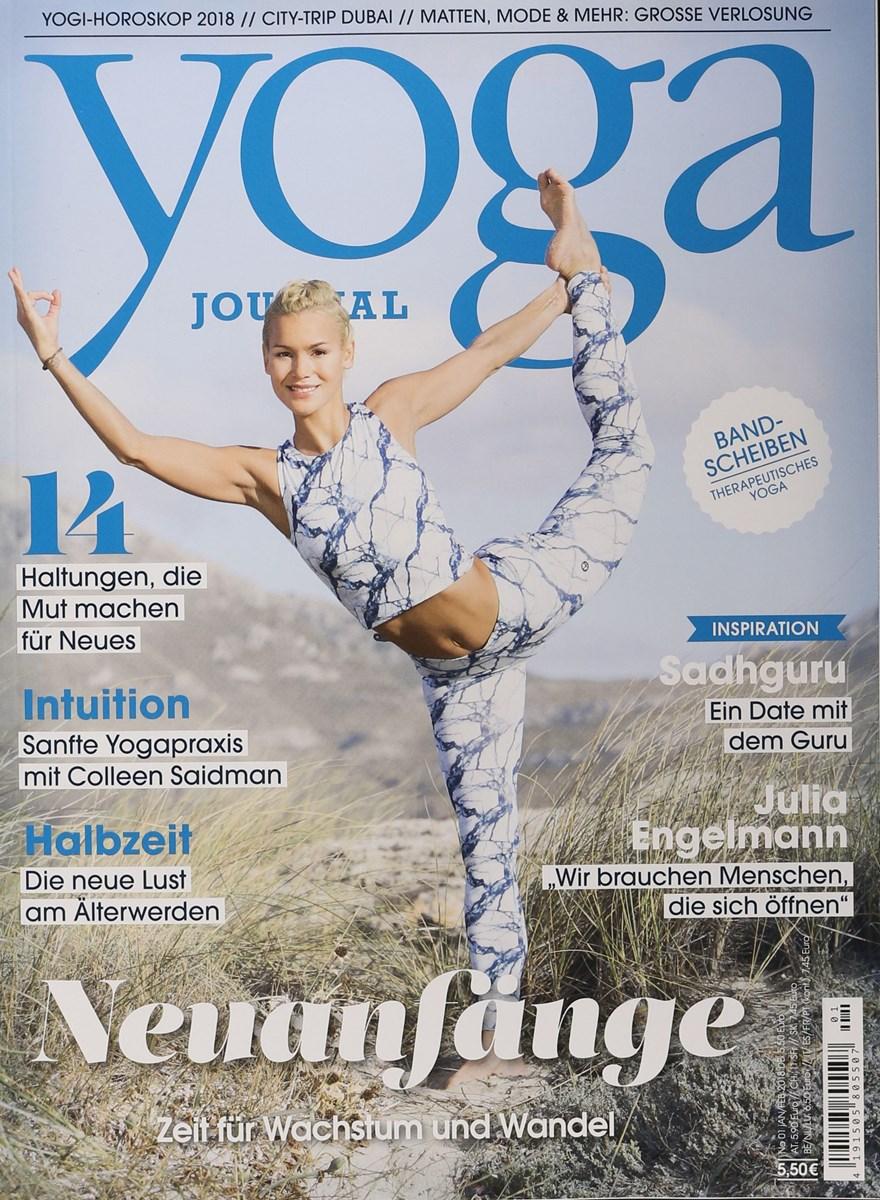 Yoga Journal 12018 Zeitungen Und Zeitschriften Online