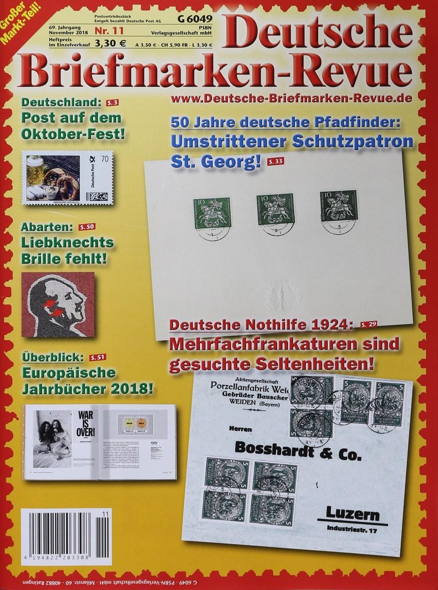 Deutsche Briefmarken Revue 112018 Zeitungen Und Zeitschriften Online
