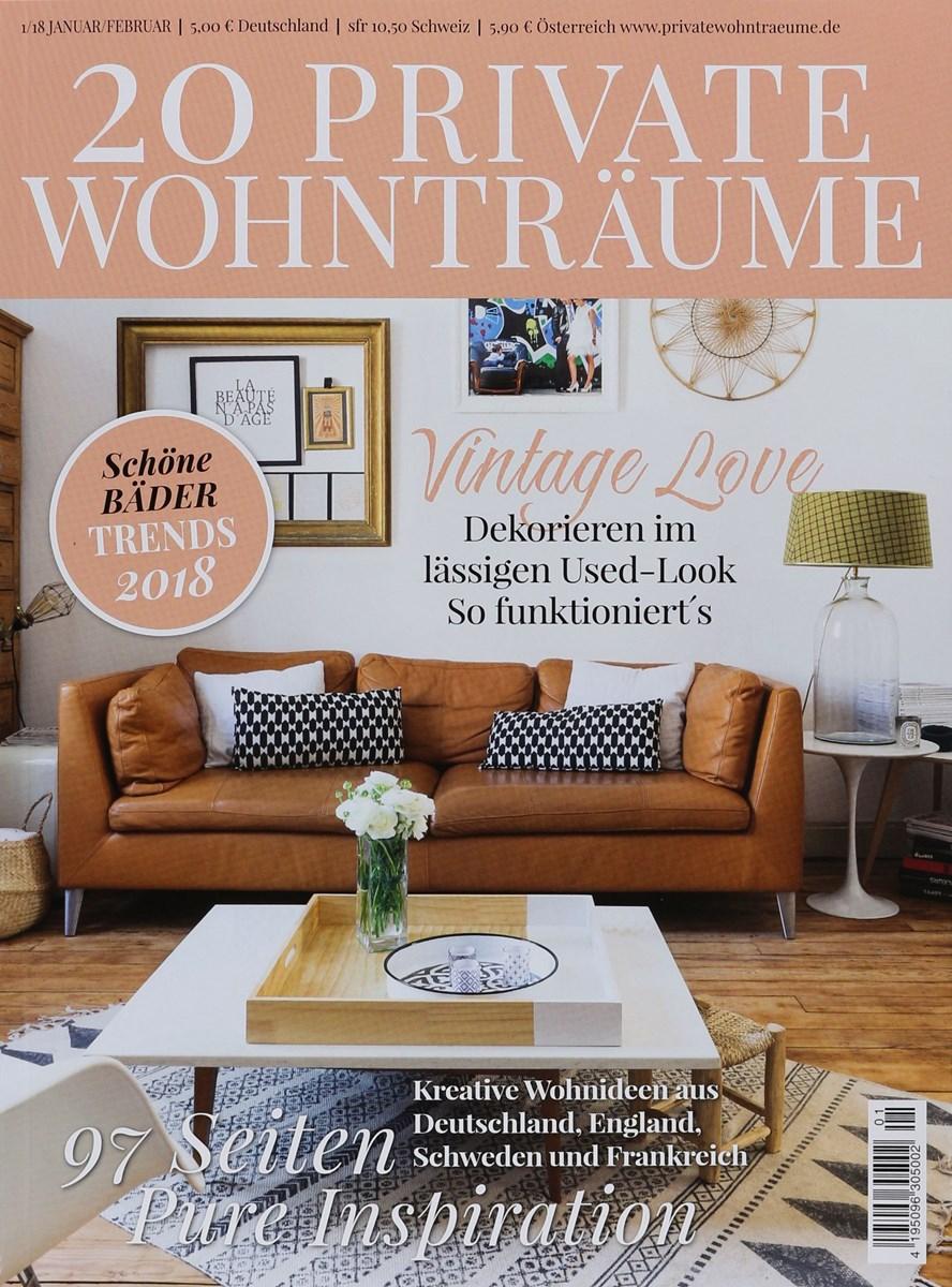 20 PRIVATE WOHNTRÄUME 1/2018 - Zeitungen und Zeitschriften online