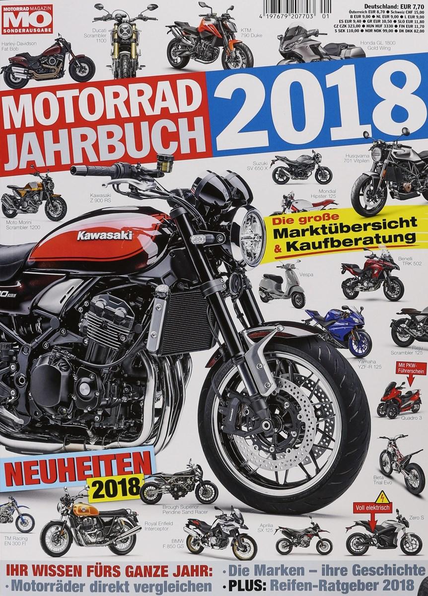 motorrad jahrbuch 2018 1 2018 zeitungen und. Black Bedroom Furniture Sets. Home Design Ideas