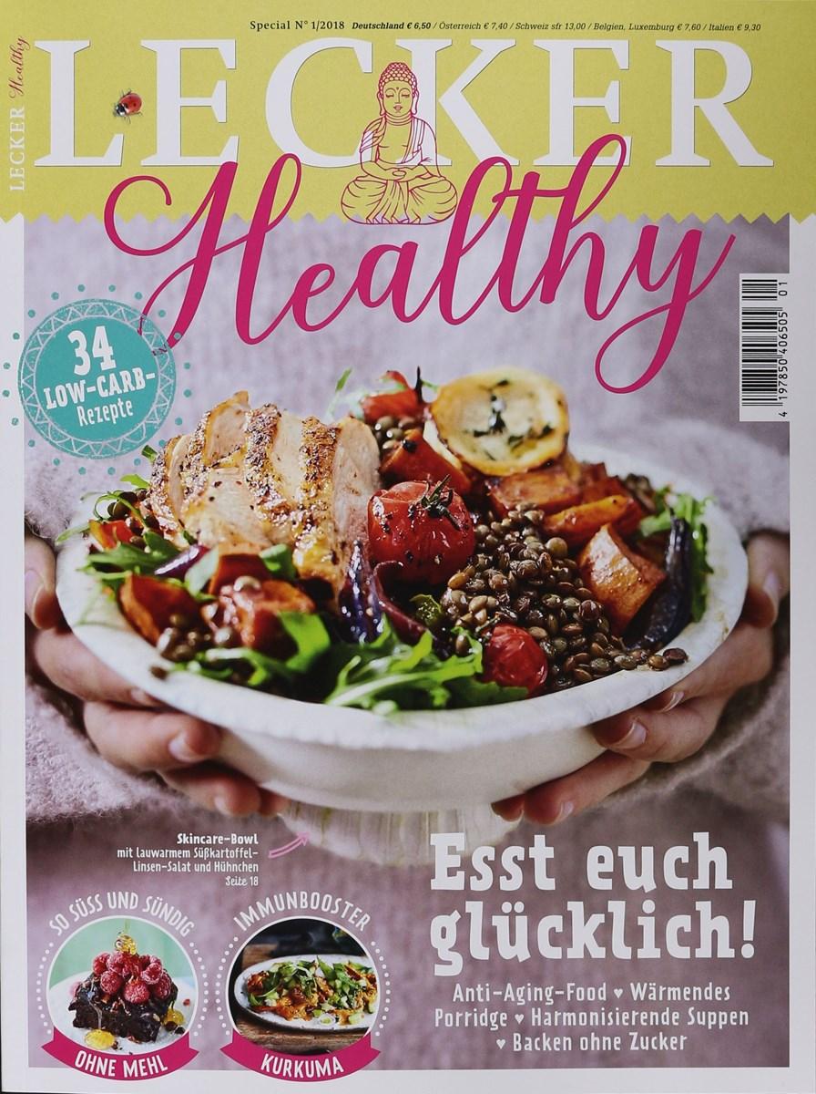 Lecker Zeitschrift Abo lecker healthy 1 2018 zeitungen und zeitschriften