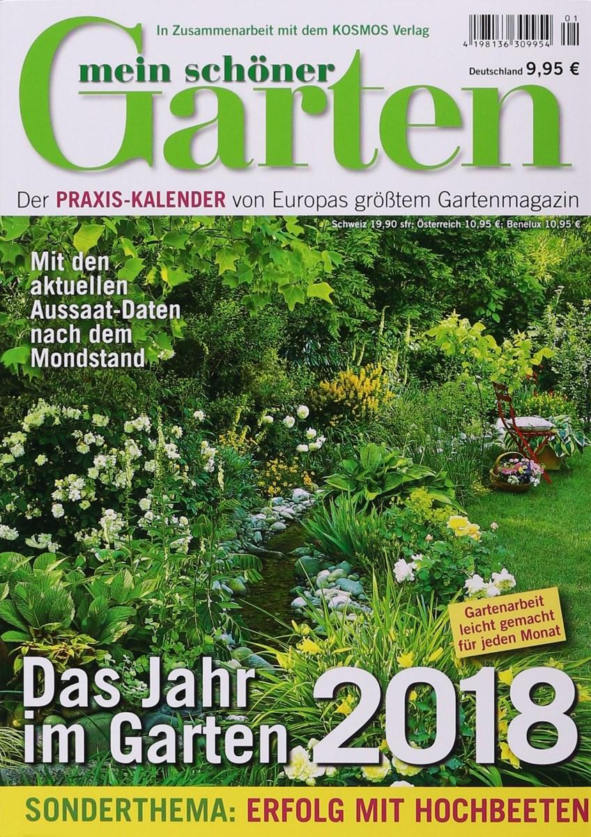 Mein schöner garten  KALENDER MEIN SCHÖNER GARTEN 1/2018 - Zeitungen und Zeitschriften ...