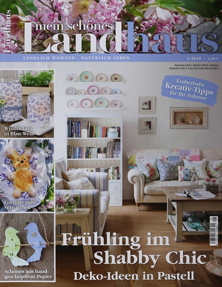 Mein Schönes Zuhause Zeitschrift mein schönes landhaus 1 2018 zeitungen und zeitschriften