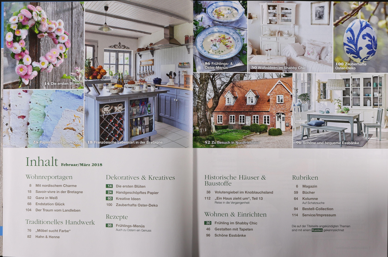 Elegant ... Farbgestaltung Innenruume Beispiele Schones Haus Dekoration  Franzoesischer Landhausstil