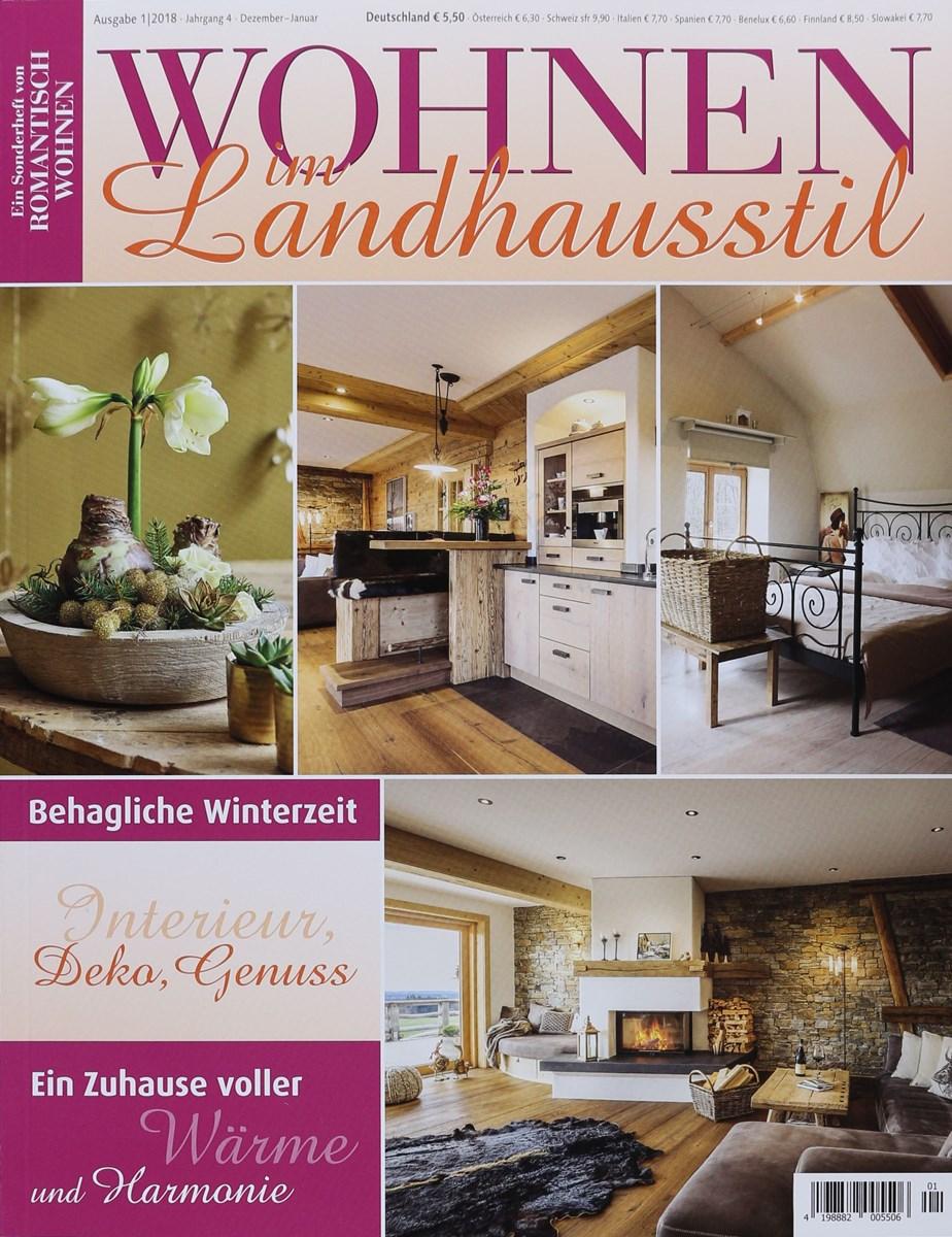 WOHNEN IM LANDHAUSSTIL 1/2018 - Zeitungen und Zeitschriften online
