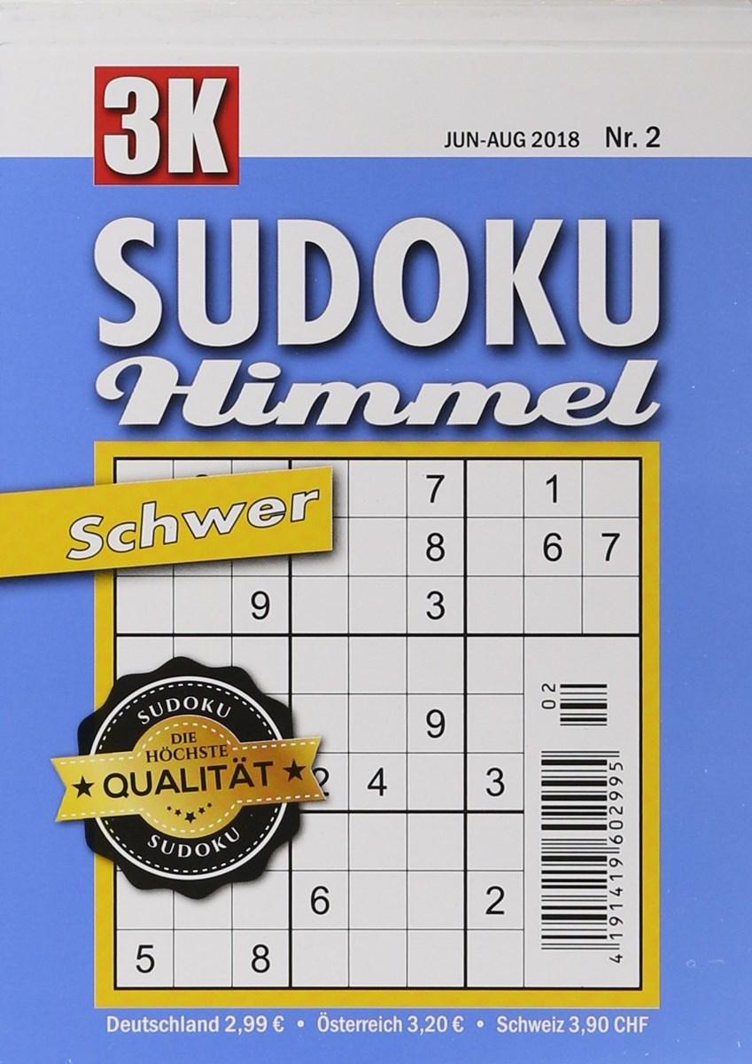 SUDOKU HIMMEL SCHWER 2/2018 - Zeitungen und Zeitschriften online