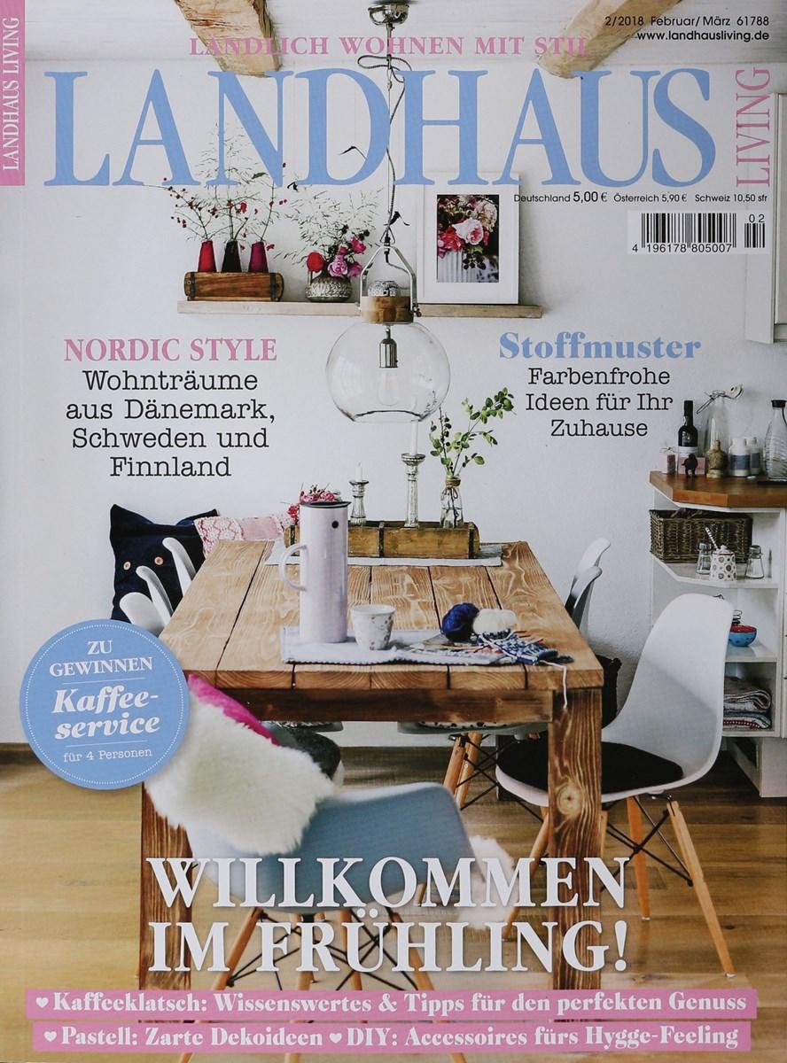 Landhaus Zeitschrift landhaus living 2 2018 zeitungen und zeitschriften
