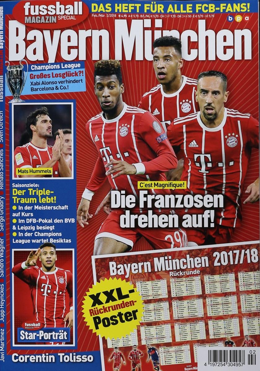 fussball magazin spezial bayern mÜnchen 22018  zeitungen