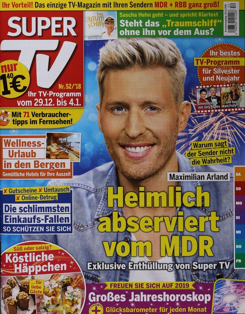 Super Tv 522018 Zeitungen Und Zeitschriften Online
