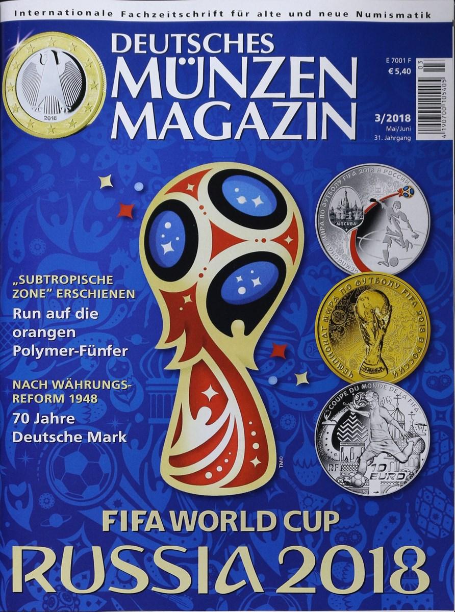 Deutsches Münzen Magazin 32018 Zeitungen Und Zeitschriften Online